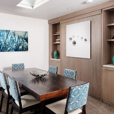 Contemporary Dining Room by Anne Grice Interiors