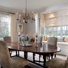 Traditional Dining Room by Beach Glass Interior Designs