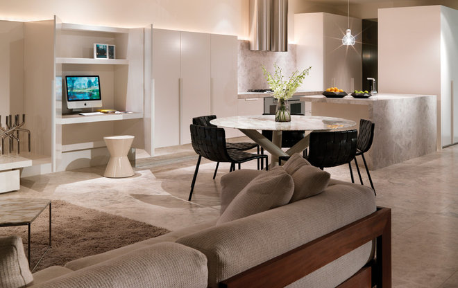 Contemporary Dining Room by Woods Bagot Australia