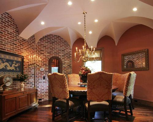 Garden Oaks Custom Home Tuscan
