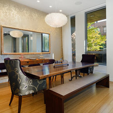 Contemporary Dining Room by Hudson Place Realty