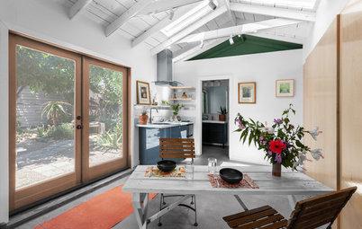 245-Square-Foot Garage Now a Breezy Garden Retreat