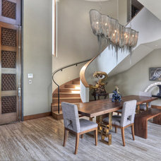 Contemporary Dining Room by James Glover Residential & Interior Design