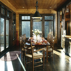 Traditional Dining Room by Rabaut Design Associates, Inc.
