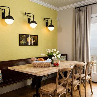 Foto di una sala da pranzo chic