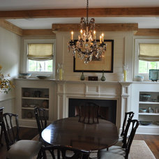 Traditional Dining Room by Cornerstone Construction