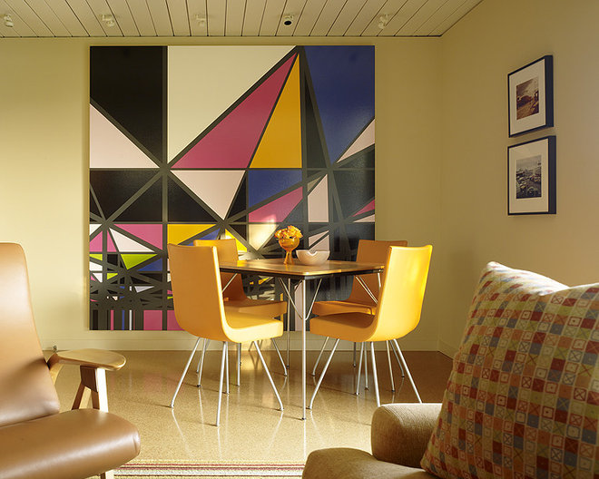 Midcentury Dining Room by Gary Hutton Design