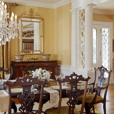 Traditional Dining Room by Siemasko + Verbridge