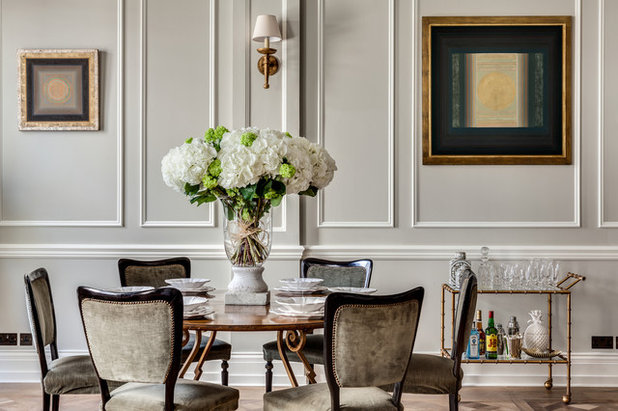 Traditional Dining Room by Barlow & Barlow Design