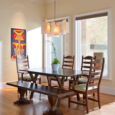 Transitional Dining Room by Grace Bender Interiors, Inc