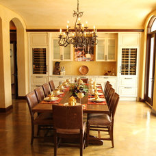 Dining Room by Archipelago Hawaii Luxury Home Designs