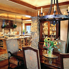 Traditional Dining Room by 186 Lighting Design Group - Gregg Mackell