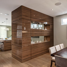 Contemporary Dining Room by Photolux Commercial Studio