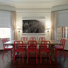 Traditional Dining Room by Andre Tchelistcheff Architects