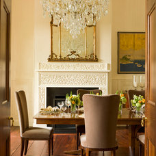 Traditional Dining Room by Rill Architects