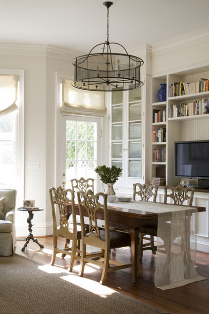 Traditional Dining Room by Patrick Sutton Associates