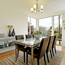 Contemporary Dining Room by Green Canopy Homes
