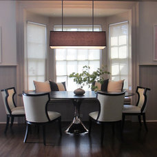 Traditional Dining Room by S. B. Long Interiors
