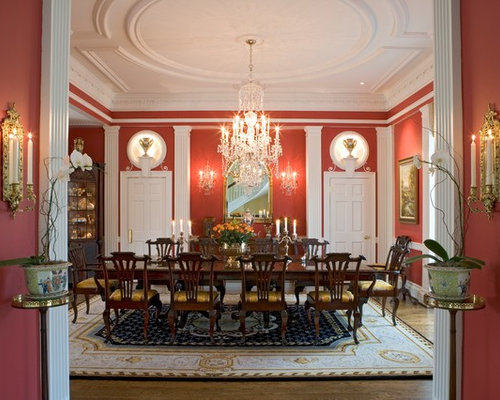 Inspiration For A Timeless Medium Tone Wood Floor And Brown Floor Dining  Room Remodel In Philadelphia