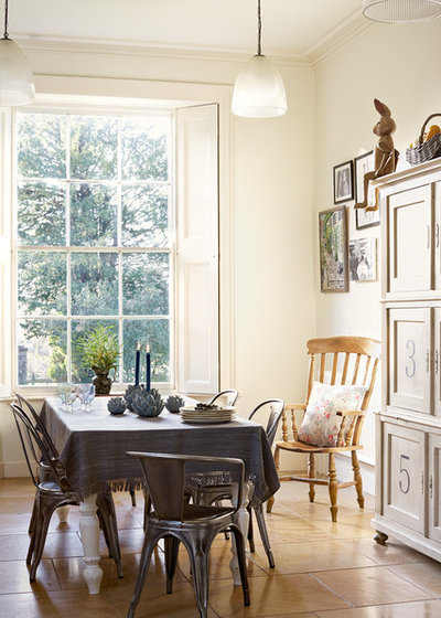Eclectic Dining Room by Velvet & Dash Interiors