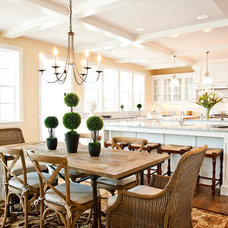traditional dining room by Cyndi Parker Interiors