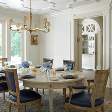 Traditional Dining Room by Brooks and Falotico Associates, Inc.