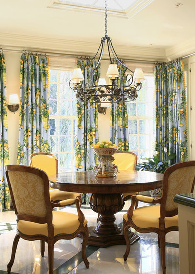 Traditional Dining Room by Tucker & Marks