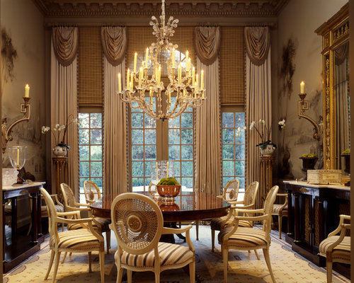 Dining Room Draperies | Houzz