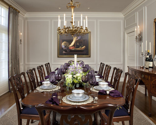 Wall moulding panels design ideas remodel pictures houzz for Houzz dining room wall art