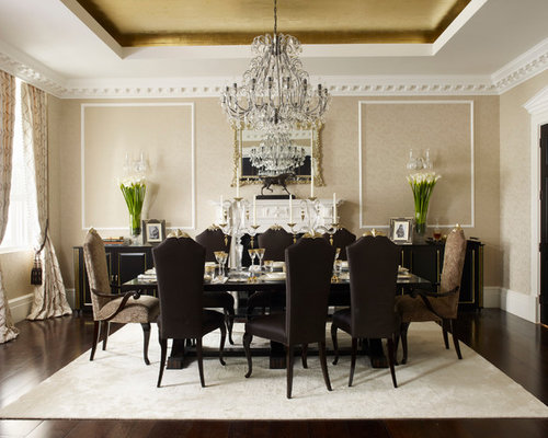 Example Of A Classic Dining Room Design In London