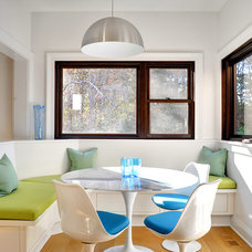 Transitional Dining Room by Erica Broberg Smith Architect PLLC