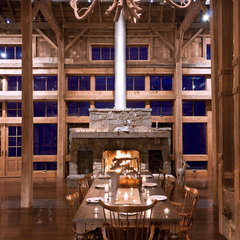 traditional dining room by Blackburn Architects, PC