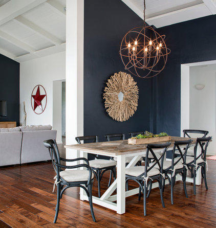 Beach Style Dining Room by Corine Maggio Natural Designs