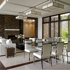 Contemporary Dining Room by NaturaliStone