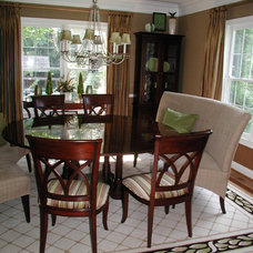 Traditional Dining Room by Gina Fitzsimmons ASID