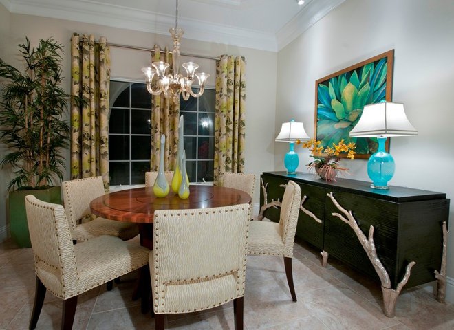 Eclectic Dining Room by London Bay Homes