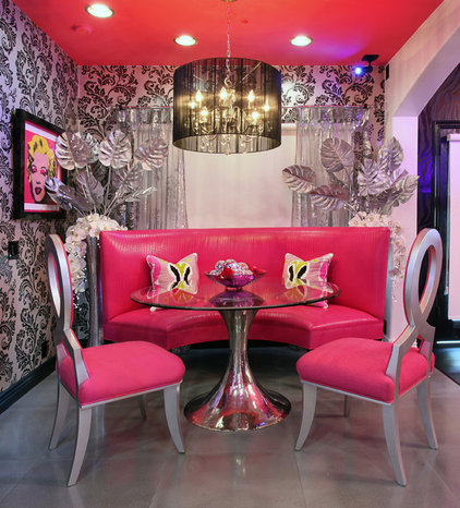 Contemporary Dining Room by frank pitman designs