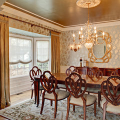 traditional dining room by Creative Wallcoverings & Interiors