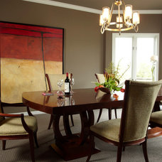 Traditional Dining Room by Jaque Bethke for PURE Design Environments Inc.