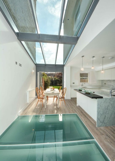 Contemporary Dining Room by MillChris Developments Ltd