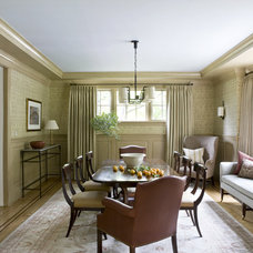 Traditional Dining Room by Billet Collins