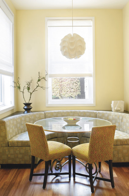 contemporary dining room by Gleicher Design Group