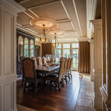 Traditional Dining Room by Derrick Architecture