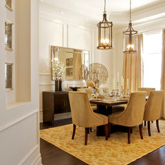 traditional dining room by Gordana Car Interior Design Studio