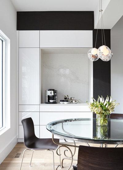Modern Dining Room by Lorraine Franklin Designs Inc