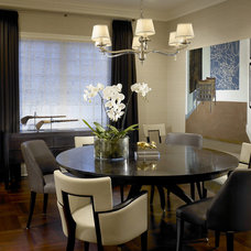 Traditional Dining Room by Handman Associates
