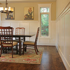 traditional dining room by DME Construction