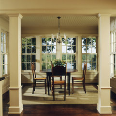 traditional dining room by Glenn Gissler Design