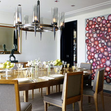 Contemporary Dining Room by Glenn Gissler Design
