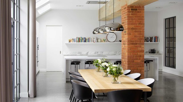 Contemporary Dining Room by Catherine White Interiors